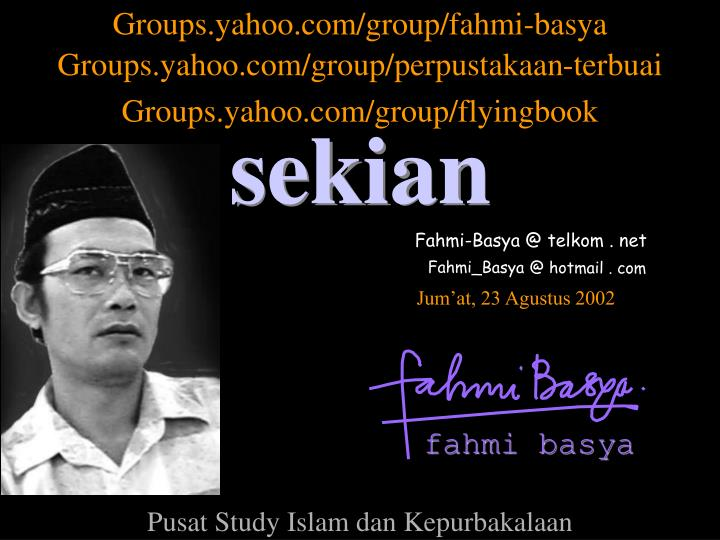 Groups.yahoo.com/group/fahmi-basya