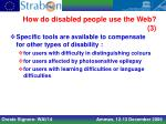 how do disabled people use the web 3