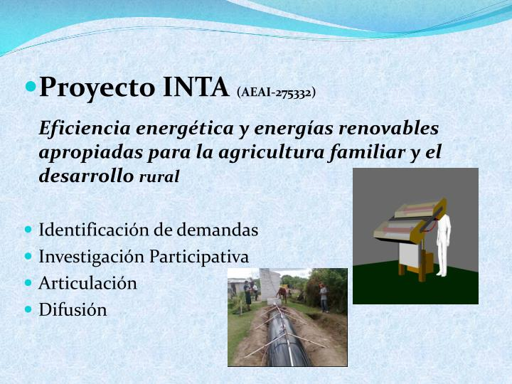 Proyecto INTA
