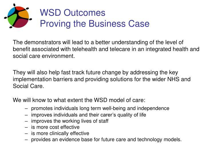 WSD Outcomes