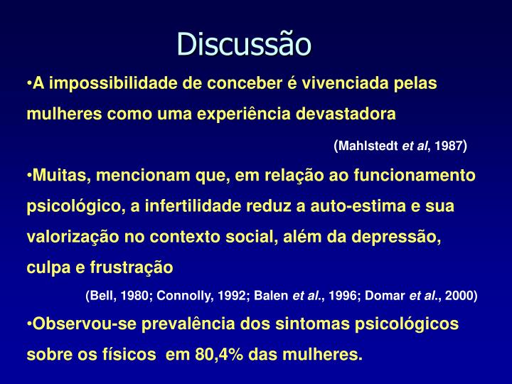 Discussão