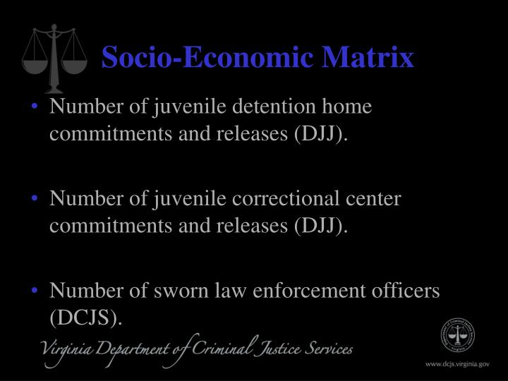 Socio-Economic Matrix