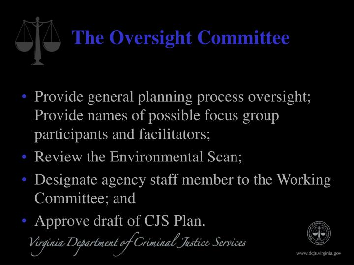 The Oversight Committee
