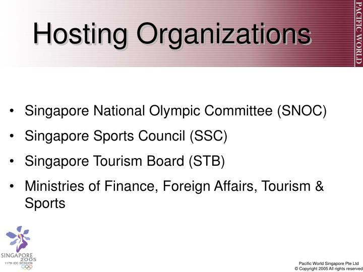 Hosting Organizations