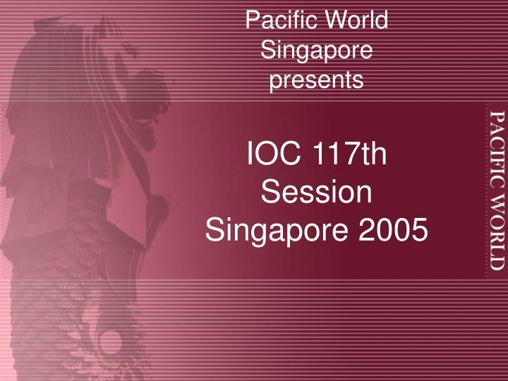 Pacific World Singapore