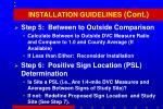 installation guidelines cont1