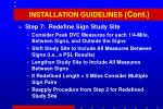 installation guidelines cont2