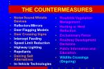the countermeasures