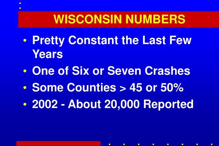 WISCONSIN NUMBERS