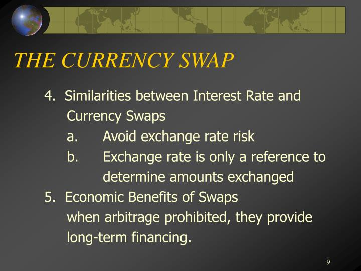 THE CURRENCY SWAP