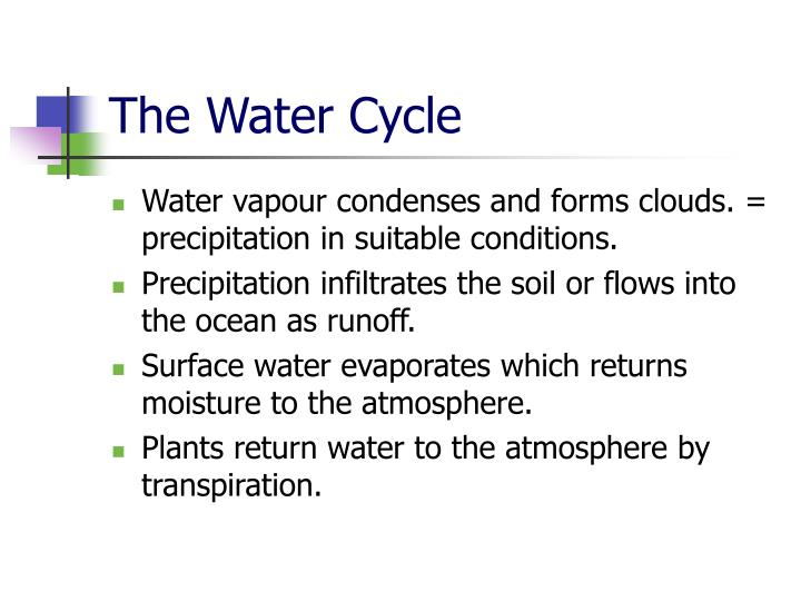 The water cycle2