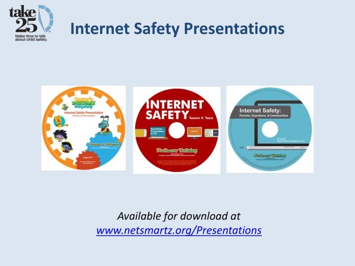 Internet Safety Presentations