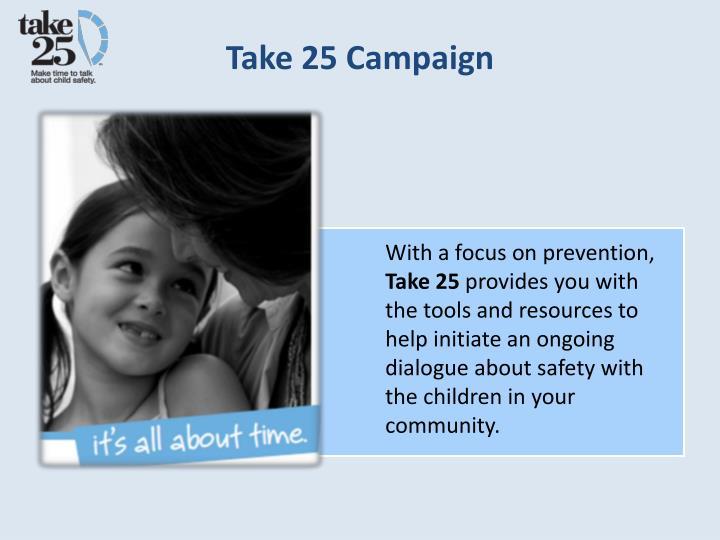 Take 25 Campaign