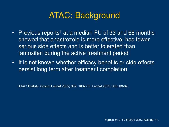 ATAC: Background