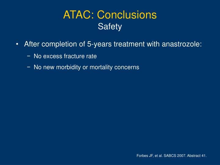 ATAC: Conclusions