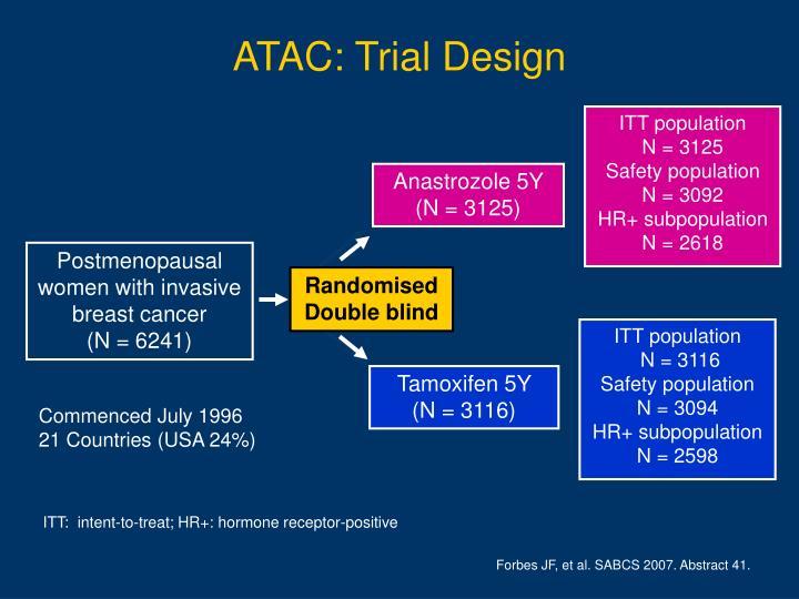 ATAC: Trial Design