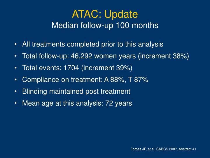 ATAC: Update