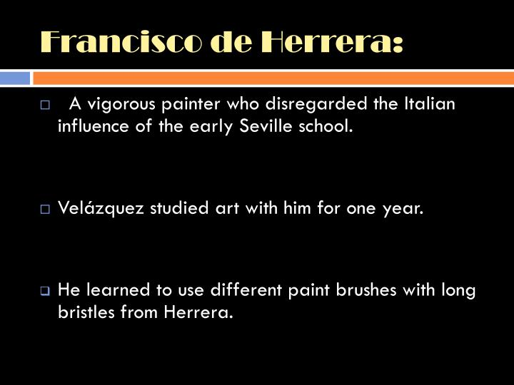 Francisco de Herrera: