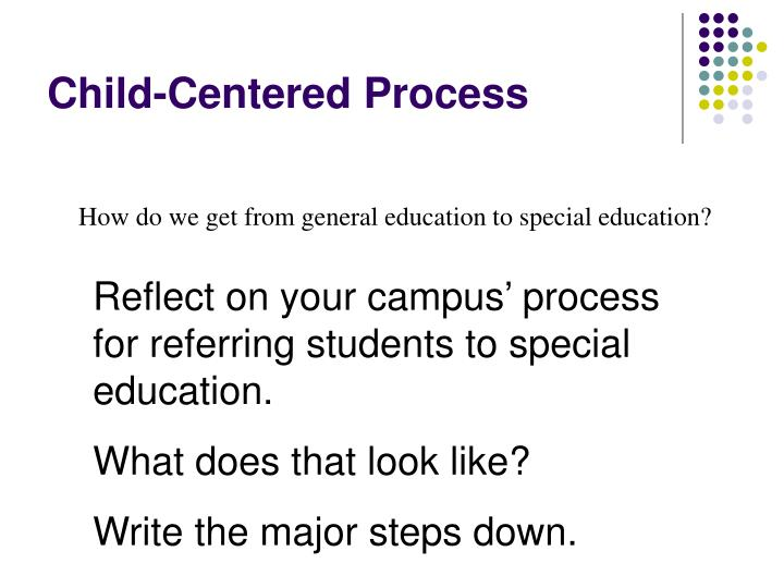 Child-Centered Process