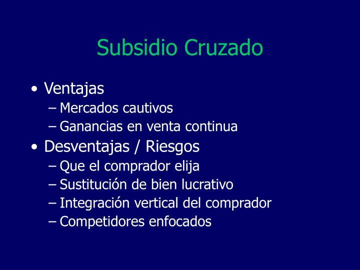 Subsidio Cruzado