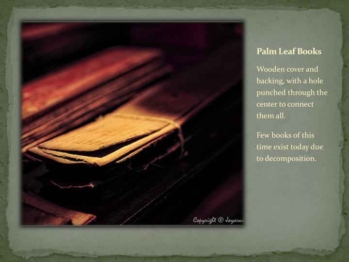 Palm Leaf Books