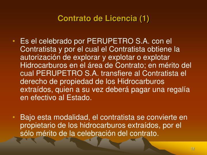 Contrato de Licencia (1)
