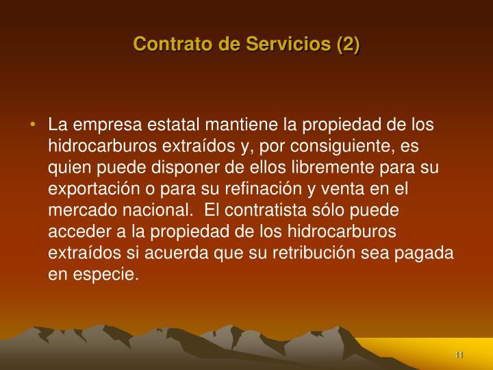 Contrato de Servicios (2)