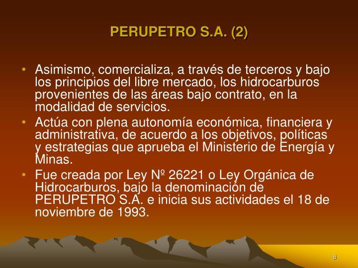 PERUPETRO S.A. (2)