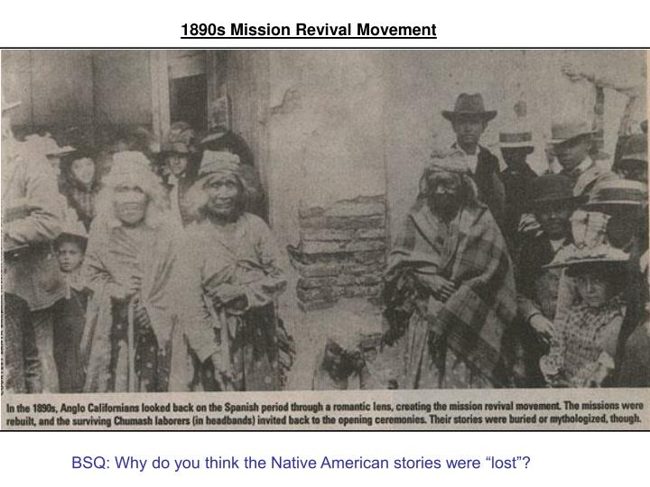 1890s Mission Revival Movement