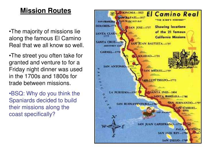 Mission Routes