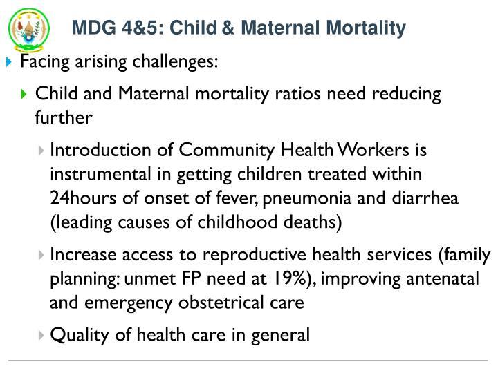 MDG 4&5: Child