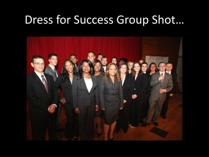 Dress for Success Group Shot…