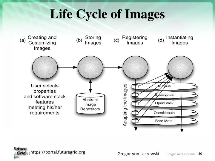 Life Cycle of Images
