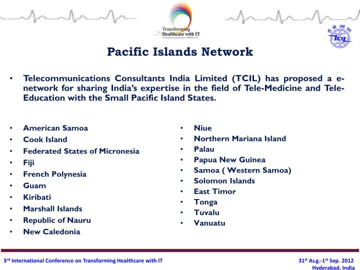 Pacific islands network