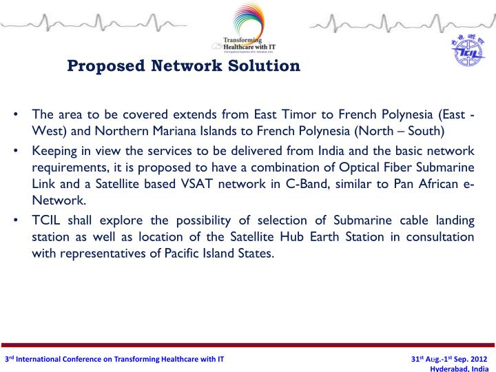 Proposed network solution