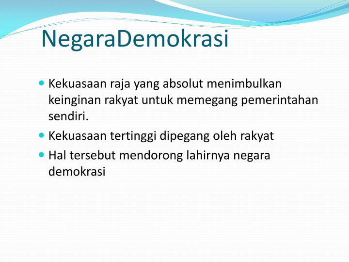 NegaraDemokrasi