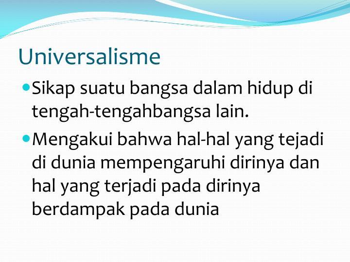 Universalisme