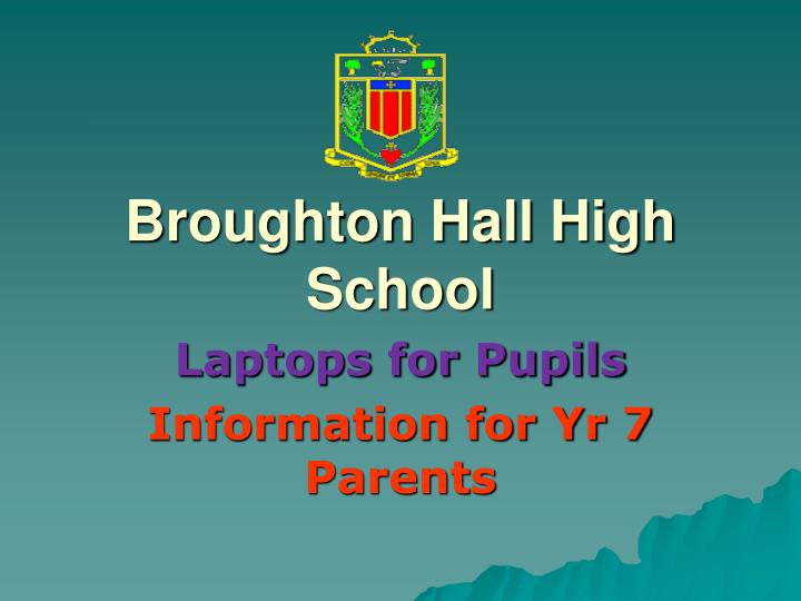 Broughton Hall High School