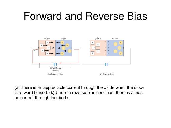 Forward and Reverse Bias