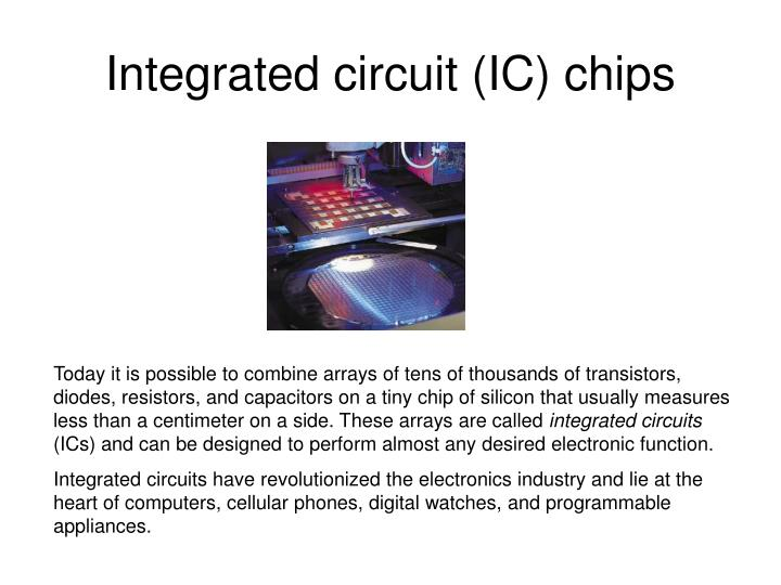 Integrated circuit (IC) chips