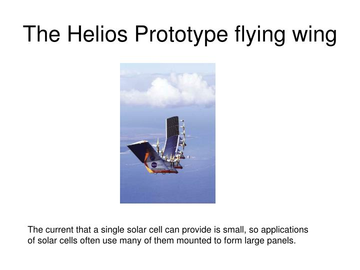 The Helios Prototype flying wing