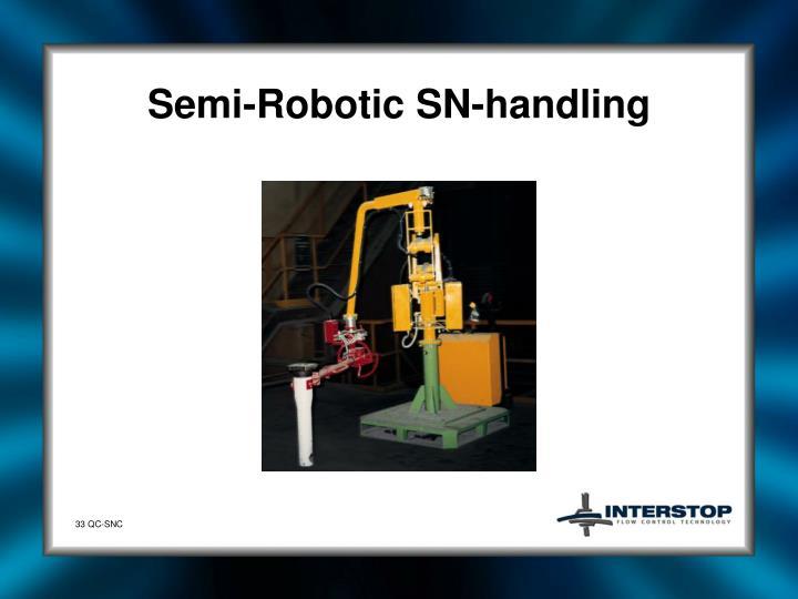Semi-Robotic SN-handling