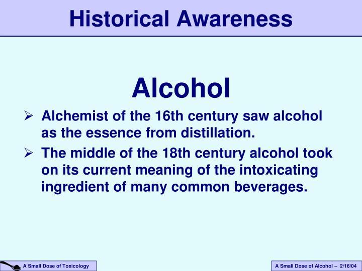 Historical Awareness