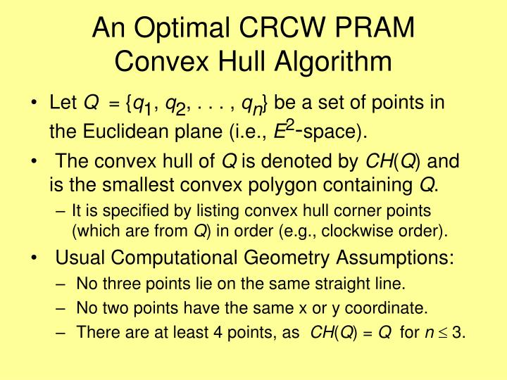 An Optimal CRCW PRAM