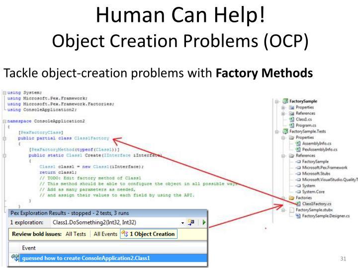 Human Can Help!