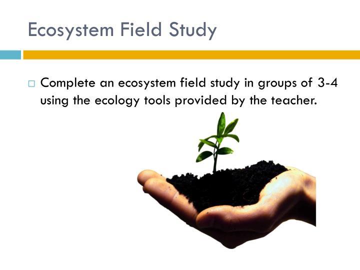 Ecosystem Field Study