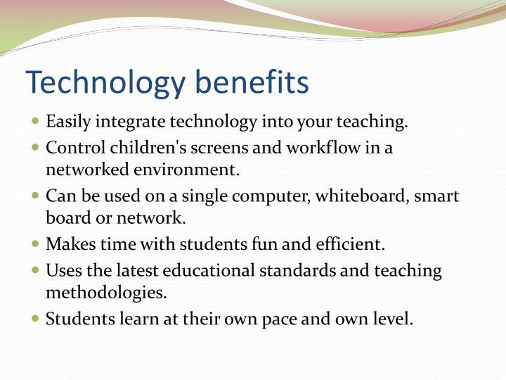 benefits of technology integration