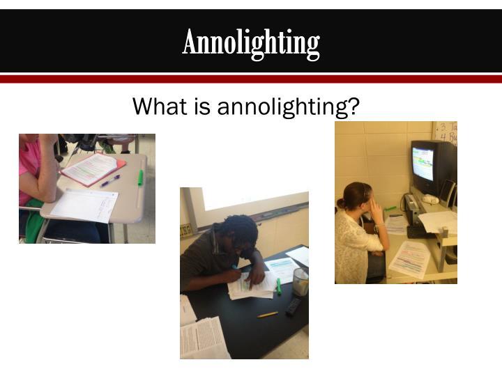 Annolighting