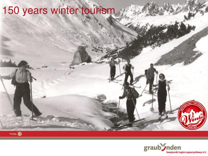 150 years winter tourism