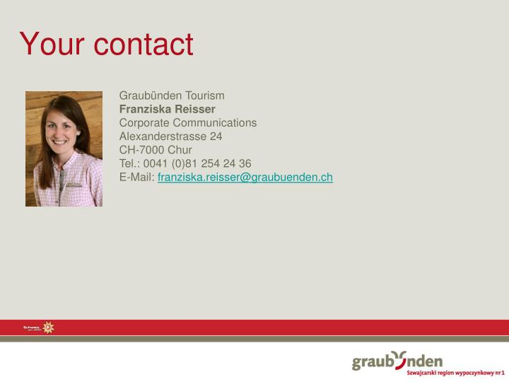 Your contact